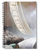 Slide Splash Spiral Notebook