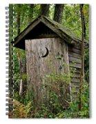 Sliding Downhill Spiral Notebook