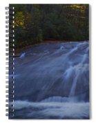 Sliding Rock Falls Spiral Notebook