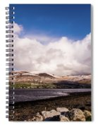 Slieve Mish Mountain In Snow Spiral Notebook