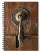Slim Door Knocker Spiral Notebook