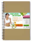 Slim Fit 180 Spiral Notebook