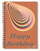 Slinky - Happy Birthday Card 2 Spiral Notebook