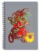 Slither Spiral Notebook
