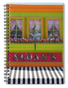 Sloans Spiral Notebook