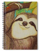 Sloth And Frog Spiral Notebook