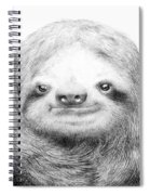 Sloth Spiral Notebook
