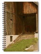 Slovenian Barn Spiral Notebook