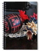 Slovenian Easter Spiral Notebook