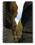 Slot Canyon Within The Tent Rocks Spiral Notebook