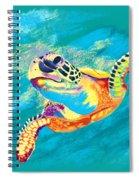Slow Ride Spiral Notebook