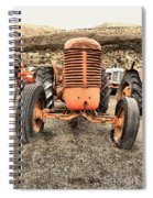 Slow Rural Decay Spiral Notebook