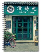 Slow Time Spiral Notebook