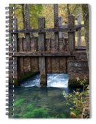 Sluce Gate Spiral Notebook