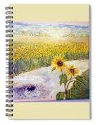 Slunecnice1 Spiral Notebook