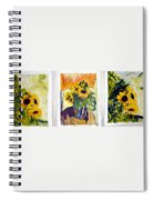 Slunecny-triptych Spiral Notebook