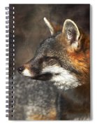 Sly As A Fox Spiral Notebook