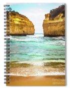 Small Bay Spiral Notebook