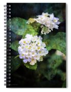 Small Blossoms 4948 Idp_2 Spiral Notebook