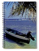 Small Boat Belize Spiral Notebook