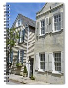 Small Colonial Style Homes Spiral Notebook