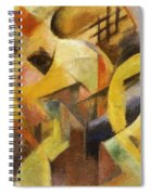 Small Composition I 1913 Spiral Notebook