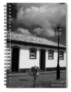 Small Cottage Spiral Notebook