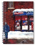 Small Format Paintings For Sale Poutine Lafleur Montreal Petits Formats A Vendre Cspandau Artist  Spiral Notebook