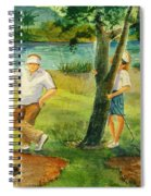 Small Golf Hazard Spiral Notebook