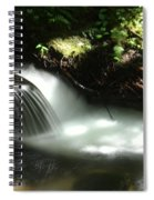 Small Illuminated Pool Spiral Notebook