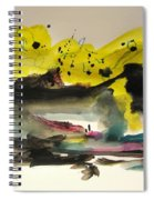Small Landscape17 Spiral Notebook