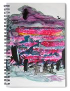 Small Landscape48 Spiral Notebook
