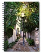 Small Lane In Charleston Spiral Notebook
