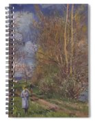 Small Meadows In Spring Spiral Notebook