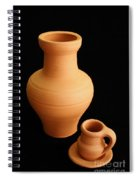 Small Pottery Items Spiral Notebook