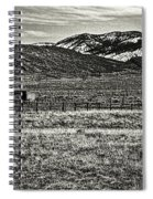 Small Ranch Colorado Foothills Spiral Notebook