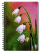 Small Signs Of Spring Spiral Notebook