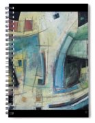 Small Town Blues Spiral Notebook