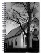 Small Town Church Spiral Notebook