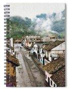 Small Town Ecuador Spiral Notebook