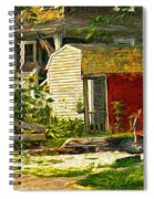 Small Town Life Spiral Notebook