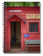 Small Town Post Office Spiral Notebook