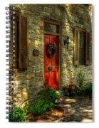 Small Town Usa Spiral Notebook