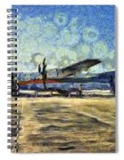 Small Turboprop Plane Spiral Notebook