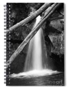 Small Waterfall Spiral Notebook