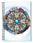 Small World In The Clouds Spiral Notebook