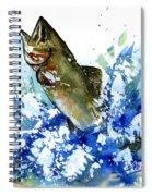 Smallmouth Bass Spiral Notebook