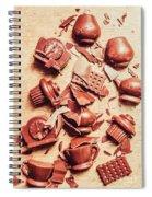 Smashing Chocolate Fondue Party Spiral Notebook