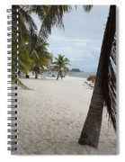 Smathers Beach - Key West Spiral Notebook