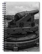 Smell The Gunpowder Spiral Notebook